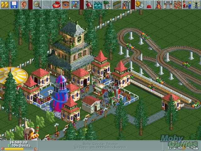 1246-rollercoaster-tycoon-windows-screenshot-a-simple-parks